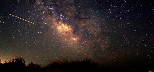 Temmuz-Ağustos Aylarında görünen Diagonal Samanyolu