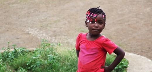 Ada kırsalında yaşayan bir çocuk